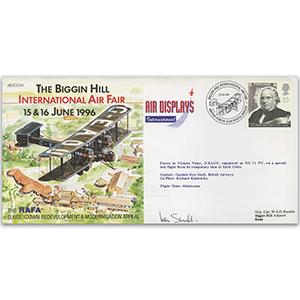 1996 Biggin Hill Air Fair - Flown - Signed by Pilot
