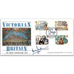 1987 Victorian Britain LFDC - The Great Exhibition - Signed by Hugh Scully