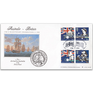 1988 Australian Settlement Bicentenary LFDC - London SW1