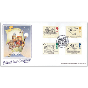 1988 Centenary of Edward Lear LFDC - Liverpool