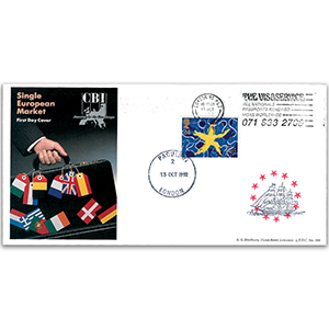1992 Single European Maket LFDC - Visa Service Slogan