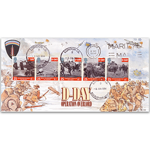 1994 D-Day 50th - London Maritime Mail CDS