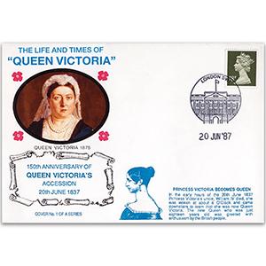 1987 LTQV - 150th Anniversary of Queen Victoria's Accession - London SW1