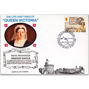 1987 LTQV - Queen Victoria's Royal Residences - Windsor Castle