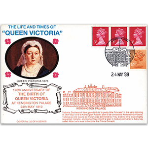 1989 LTQV - 170th Anniversary of Queen Victoria's Birth