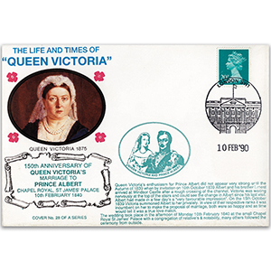 1990 LTQV - 150th Anniversary of Queen Victoria's Marriage