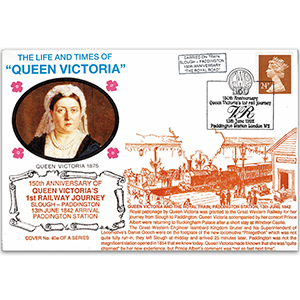 1992 LTQV - 150th Anniversary of Queen Victoria's 1st Railway Journey