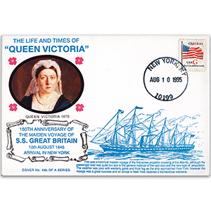 1995 LTQV - S.S Great Britain to New York 150th