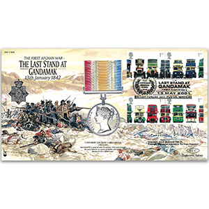 2001 Last Stand at Gandamak 1842 - Signed by Col. G. Morgan