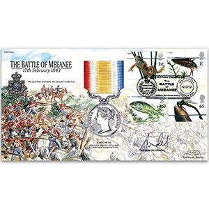 2001 Battle of Meeanee 1843 - Signed The Earl of Arundel