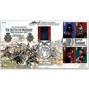 2001 Battle of Moodkee 1845 - Signed by Col. J. W. Frances