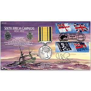 2001 South African Campaigns 1834 - 1853 - Signed by Lt. Col. Ian McBain