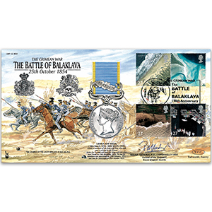 2002 Battle of Balaklava - Signed by Major General P. Cordingley DSO