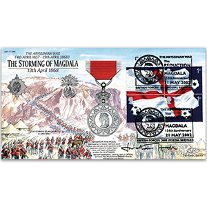 2002 Storming of Magdala 1868 - Signed by Major General J. M. F. C Hall CB