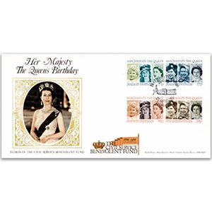 1986 The Queen's 60th Birthday - Civil Service Benevolent Fund