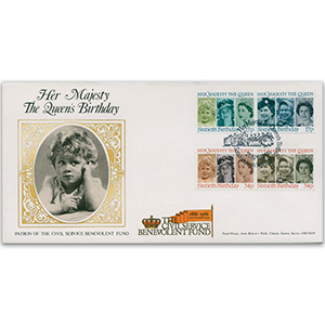 1986 Queen's 60th Birthday - Civil Service Benevolent Fund Official