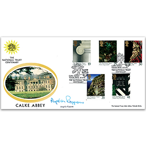 1995 National Trust 100th - Calke Abbey - Signed by Angela Rippon