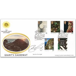 1995 National Trust, Giants Causeway - Signed B Gascoigne
