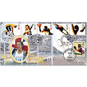 1996 Olympics - Doubled USA - Sally Gunnel