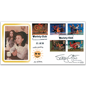 1998 Magical Worlds - Variety Club Official - Signed by Jenny Agutter