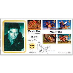 1998 Magical Worlds Variety Club Cover - Signed by Philip Schofield