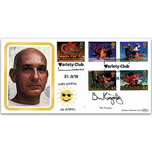 1998 Magical Worlds - Variety Club - Signed by Sir Ben Kingsley