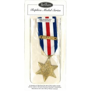 1944-45 France & Germany Star medal