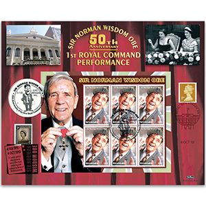 2002 Norman Wisdom Variety Performance - Doubled 2010