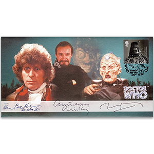 2001 Doctor Who Cover - Signed by Tom Baker, Anthony Ainley & Terry Molloy