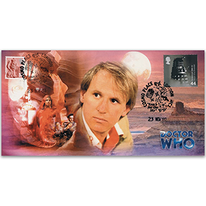 2002 Doctor Who Cover - The Fifth Doctor - Doubled 2003