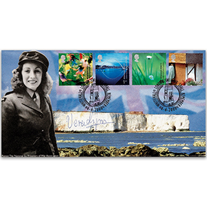 2000 People & Place - D-Day anniversary Signed Vera Lynn