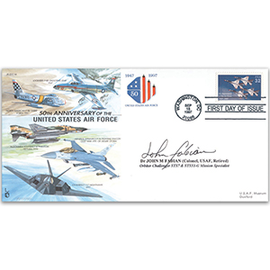 1997 US Air Force 50th Anniversary - Signed by Dr. John M. Fabian