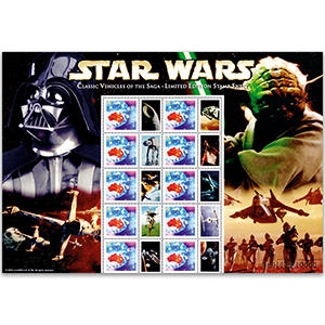 Australia Star Wars Presentation Pack - Vehicles - Limited Edition