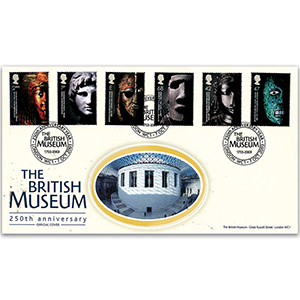 2003 British Museum 250th Anniversary Official Cover