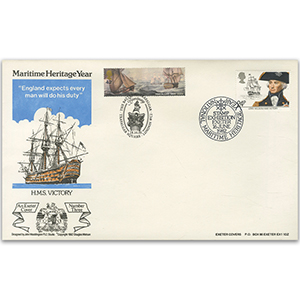 1982 Maritime - Exeter Cover Doubled 2005