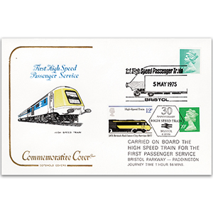 1975 First High Speed Passenger Service Bristol - Paddington Cotswold Cover - Doubled Bristol 2006