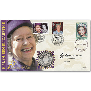 2001 HM The Queen's 75th, Trebled 80th - Signed Lord Howe