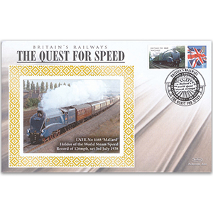 2008 Mallard World Steam Speed Record 70th Anniversary