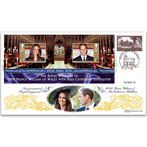 2010 Royal Engagement Announcement dbld 2011 IOM Wedding M/S