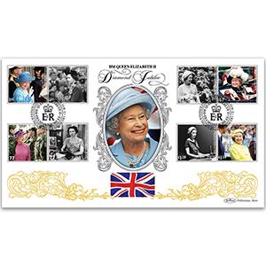 2012 HM Queen Elizabeth II's Diamond Jubilee Cover