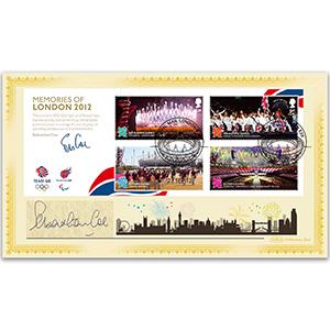 2012 Olympic Memories Signed Sebastian Coe