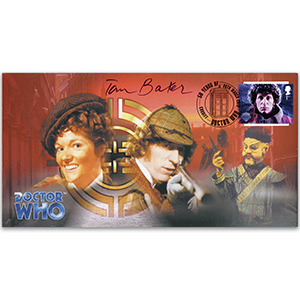 2013 Dr Who - Signed Tom Baker