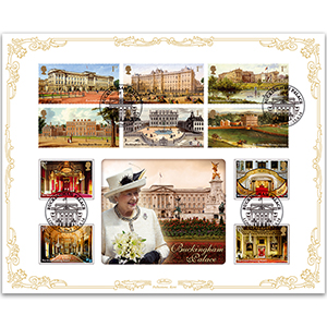 2014 Buckingham Palace Stamp and M/S Stamps Cover