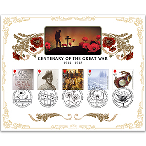 Centenary of the Great War Cover