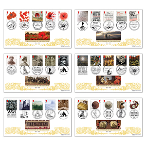 The Great War - Centenary Cover Collection