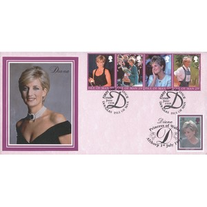 1998 IoM Princess Diana Commemoration - Doubled Althorp