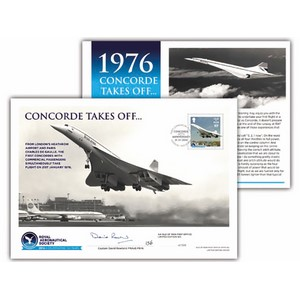 IOM 40th Ann.Concorde 1st Flt Ltd Ed.Signed FDC 2016