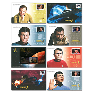 2016 Canada Star Trek Set of 8 Collectors Covers