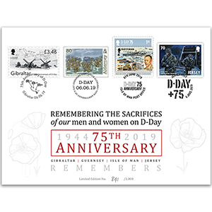 2019 Four Islands D-Day Cover