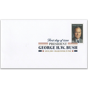 USA George W Bush 1v FDC 12/6/19